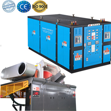 Induction aluminum scrap metal induction melting furnace