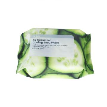 OEM Adult Cooling Body Wet Wipes Without Alcohol