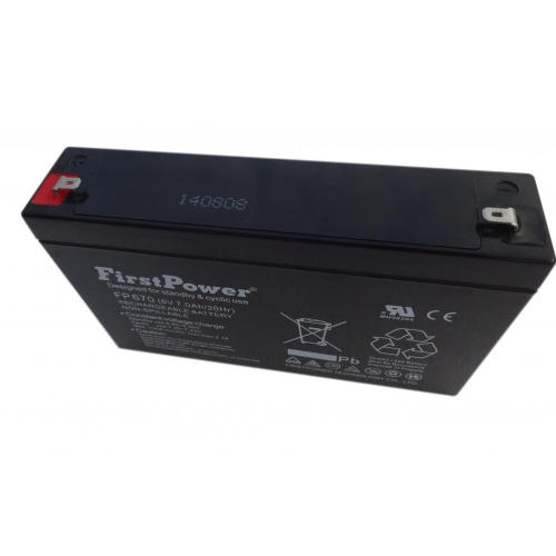 Reserve Battery 6V7AH Control Equipment Battery