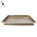 "13""Oblong shallow baking pan with wide sides"