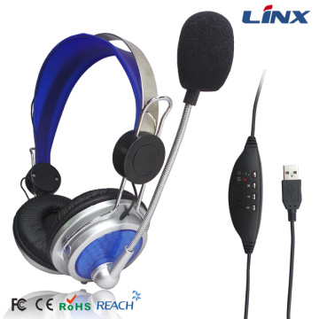 Business Headsets with Mic Mute Noise Cancelling