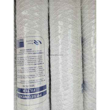 PP Cotton String Wound Water Filter Cartridge