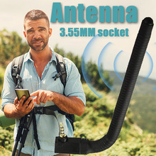HOT SELL Portable 6 DBI 3.5mm Mobile Phone External Antenna Signal Booster For Mobile Cell Phone Outdoor Dropshipping