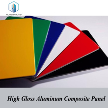 High Gloss Surface Aluminium Composite Panel