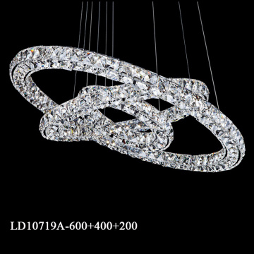 contemporary led ring lighting chandeliers remote control
