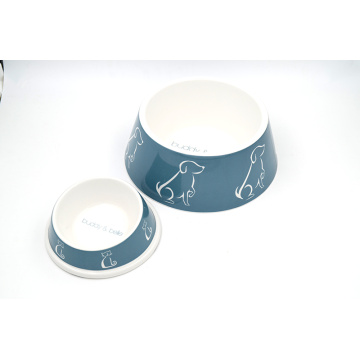 Melamine Cat Bowl Set for Small Big Cat