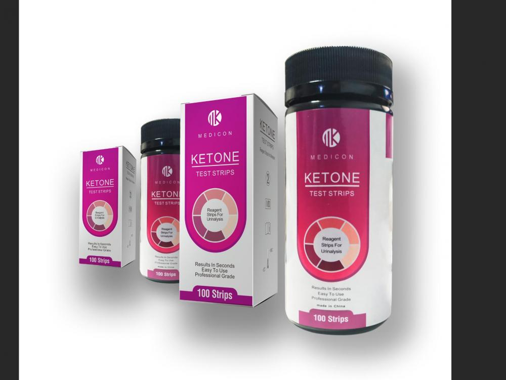 homecare ketone urine test strips for diabetic