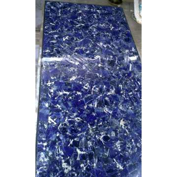 Translucent or No Translucent blue sodalite plate