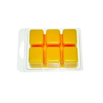 Custom  6 compartment wax melt clamshell packaging