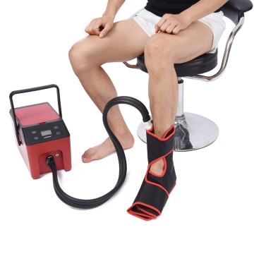 Ankle ice compression cold therapy unit
