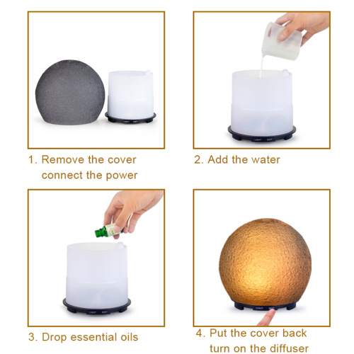 Baby Room Essential Oil Diffuser Cool Mist Humidifier