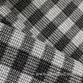 Skin-Friendly Checked Terry Fabric