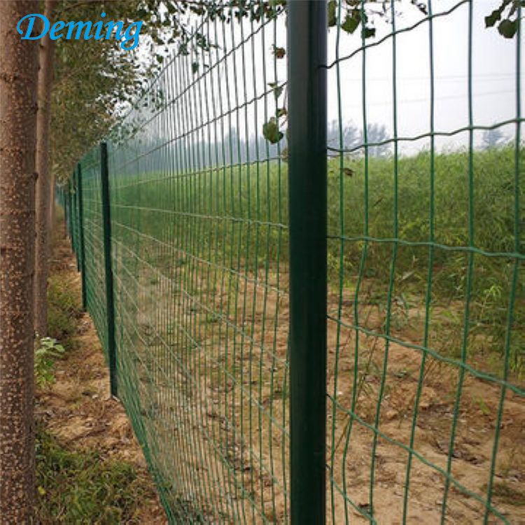 Welded Electric Galvanized PVC Coated Ripple Wire Mesh