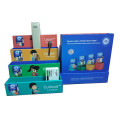 Visual color stationery storage gift box