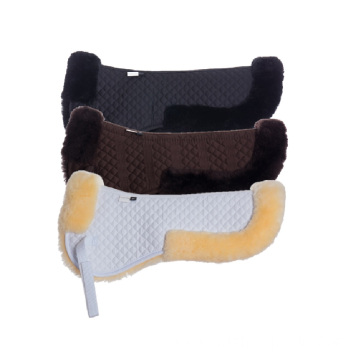 Genuine Australian Merino Sheepskin half saddle pad