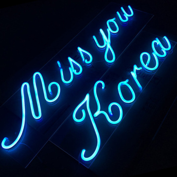 DECORATION TEXT LED NEON LETTERS