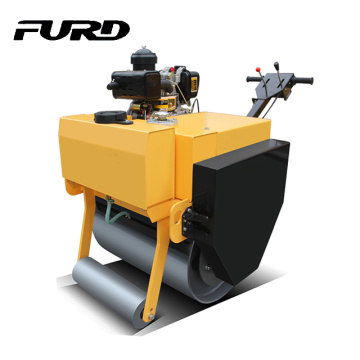 500Kg 700mm Single Wheel Vibration Road Roller Compactor For Paving (FYL-700)