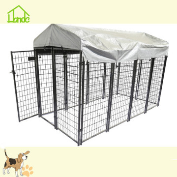 Fashion black welded mesh dog kennel
