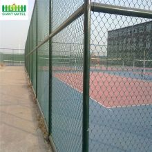 Galvanized Decorative Chain Link Wire Fence
