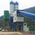 Mini advanced 60m3 belt conveyor concrete batching plant