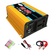 Car Power Inverter 4000W 12V to 220V Converter for Home Power Phone Charger Laptop Charging Emergency Power