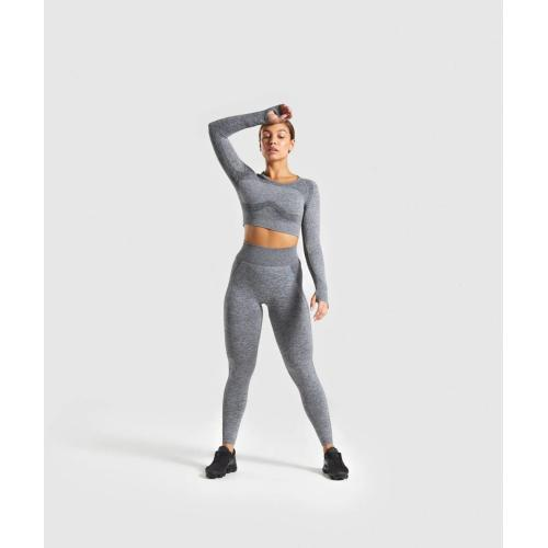 Seamless Leggings Activewear Yoga Sets