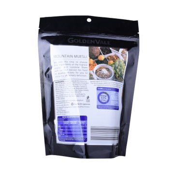 reausable food grade compostable plastic compound food bag