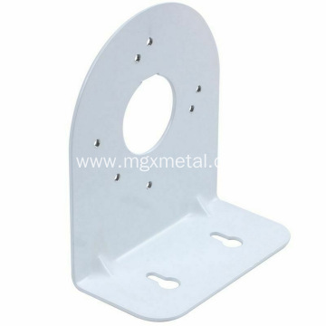 White Powder Coated Metal Camera Wall Mount Bracket