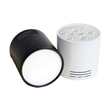 Black Warm White 3W LED Downlight
