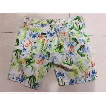 lady's casual print pant