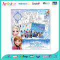 DISNEY FROZEN Stick&Colour&Sketch attractive art set