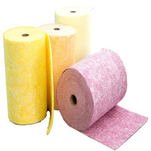 Air filters media glass microfiber mat