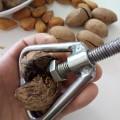 Nut Cracker Machine Walnut Sheller Tool Stainless Steel Macadamia Nut Opener Opening Kitchen Accessories Gadgets