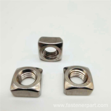 304 Stainless Steel Threaded Strip5 Square Castle Nut