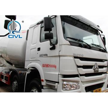 HOWO 6x4 10-14m3 Self-loading Concrete Mixer Truck