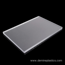 Flame resistant solid polycarbonate board