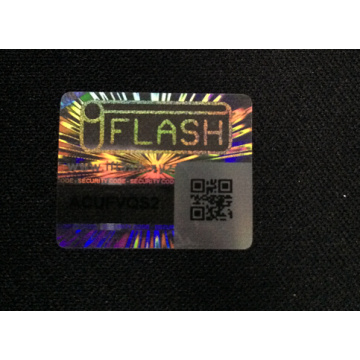 Anti-fake QR Code 3D Hologram Label Sticker
