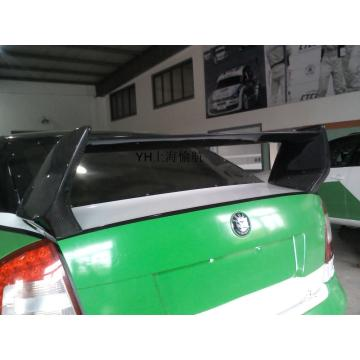 Skoda Mingli Carbon Fiber Rear-Wing Automobile Refit