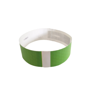NFC chip RFID Thermal Disposable Paper Wristband