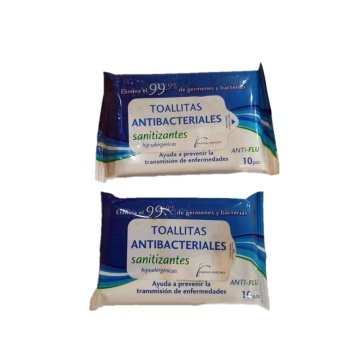 99.9% Antibacterial Wet Wipes