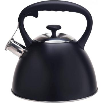 Black Durable Color Stainless Steel Tea Kettle