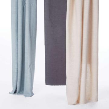 Linen Curtain in Solid Colors Natural Appearance