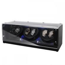Triple Rotors Watch Winder With LED Light