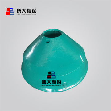 high manganese steel cone crusher mantle liner