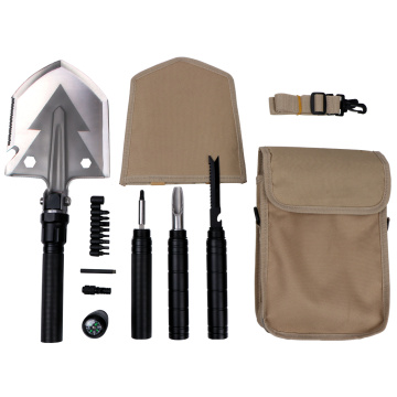 Multifunctional Foldable Emergency Camping Shovel