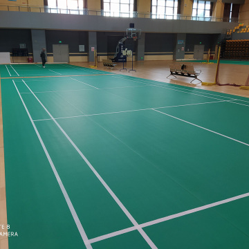 vinyl Sport flooring for badminton Courts