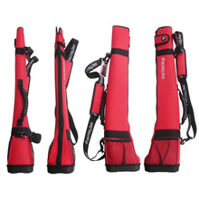 Golf bag hold six poles golf stand package