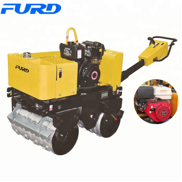 Manual Trench Drum Vibratory Road Roller 800KG Small Compactors (FYL-G800C))