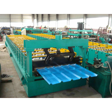 Fully automatic metal roof trapezoidal making machine