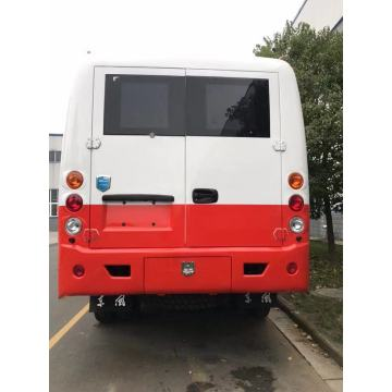 4WD Dongfeng off-road  high chassis bus